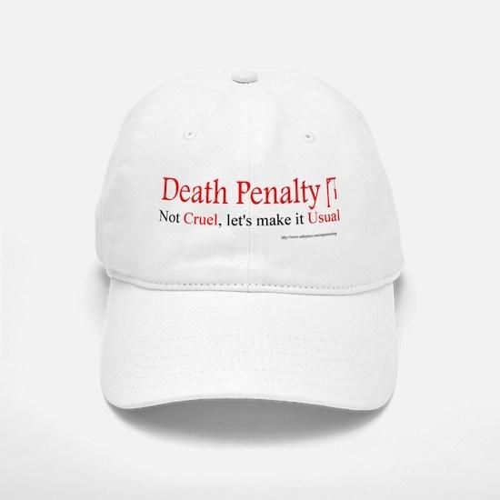 Capital Punishment Baseball Baseball Cap