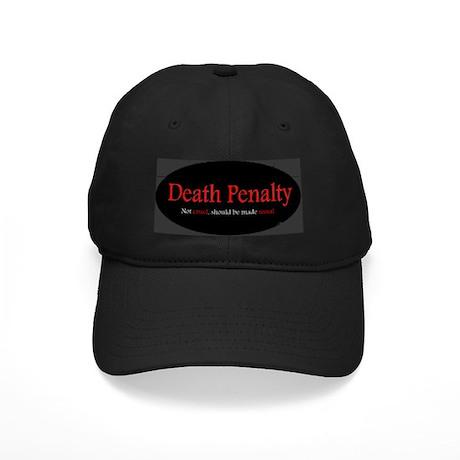 Black Death Penalty Cap