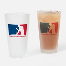MLW logo.png Drinking Glass