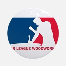 MLW logo.png Round Ornament