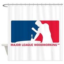 MLW logo.png Shower Curtain