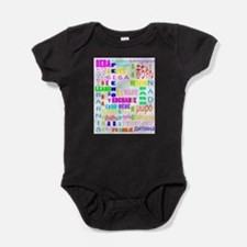 Unique Russian language Baby Bodysuit