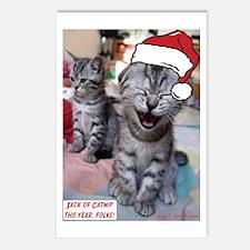 Sack Of Catnip Postcards (Package of 8)
