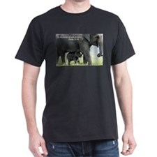 Cute Elephant mother and baby T-Shirt