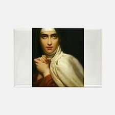 Saint Teresa Of Avila Rectangle Magnet (10 pack)