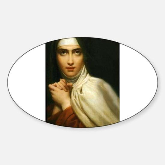 Saint Teresa Of Avila Sticker (Oval)