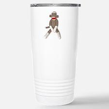 Unique Baby shower sock monkey Travel Mug
