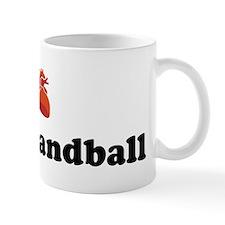 I (Heart) Beach Handball Mug