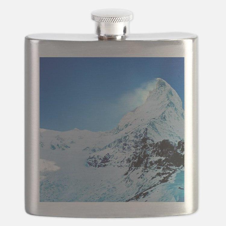 Cute Switzerland Flask