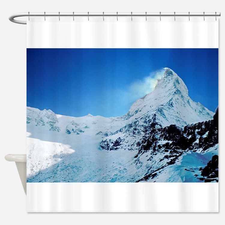 Cute Alps Shower Curtain