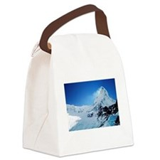 Cute Mountains Canvas Lunch Bag