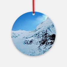 Cute Mountain Round Ornament