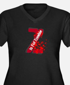 Z Is For Zombie Plus Size T-Shirt