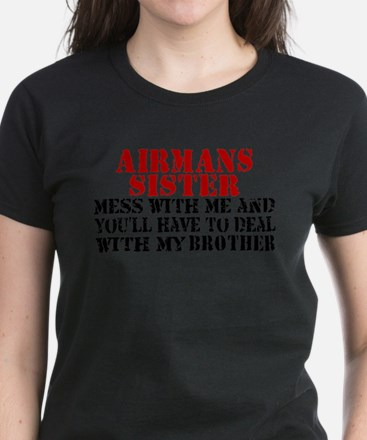 Cute Air force sister Tee