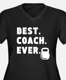Best Coach Ever Strength Plus Size T-Shirt