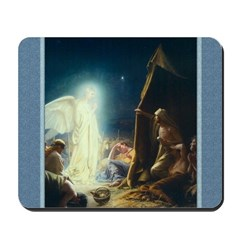 Shepherds Hear the News - Bloch - Mousepad