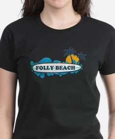 Cute Folly beach Tee