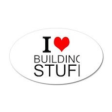 I Love Building Stuff Wall Decal