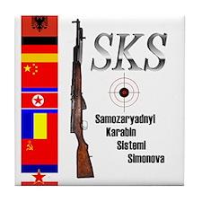 SKS Tile Coaster