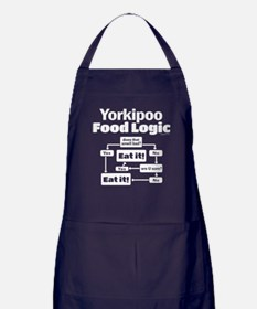 Yorkiepoo Food Apron (dark)