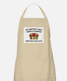 DENTIST CROWN Apron