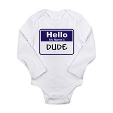 Cute Mark zero Long Sleeve Infant Bodysuit