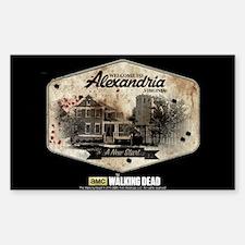 Twd Alexandria Sticker (rectangle)