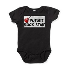 Cute Future rockstar Baby Bodysuit