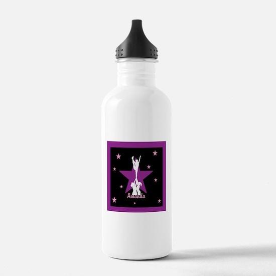 Cheerleader pink Water Bottle