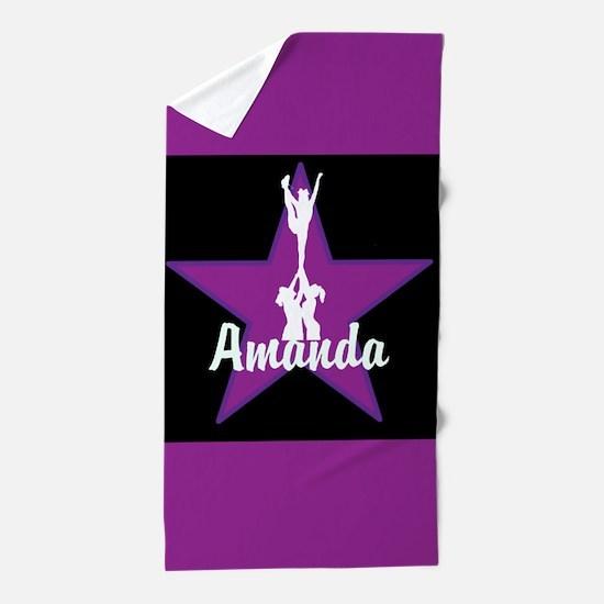 Cheerleader Pink Beach Towel