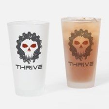 Unique Thrive Drinking Glass