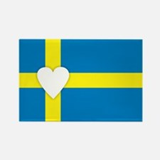 Cute Swede Rectangle Magnet