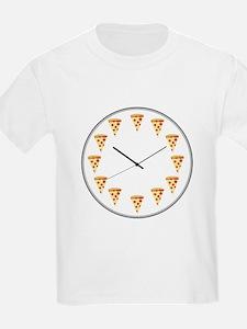 Pizza Clock T-Shirt