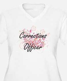 Corrections Officer Artistic Job Plus Size T-Shirt