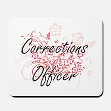 Corrections Officer Artistic Job Design Mousepad