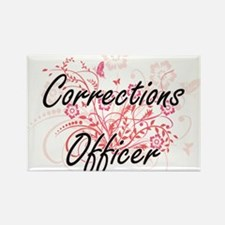 Corrections Officer Artistic Job Design wi Magnets