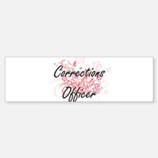 Corrections Officer Artistic Job De Bumper Bumper Bumper Sticker