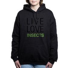 Cute Moth Women's Hooded Sweatshirt