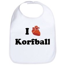 I (Heart) Korfball Bib
