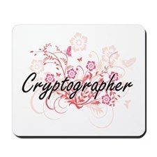 Cryptographer Artistic Job Design with F Mousepad