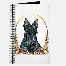 Scottish Terrier Holiday Journal
