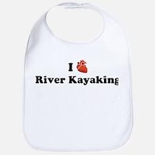I (Heart) River Kayaking Bib