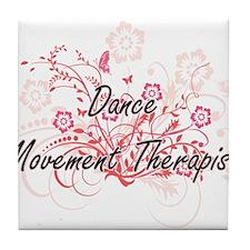 Dance Movement Therapist Artistic Job Tile Coaster