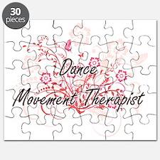 Dance Movement Therapist Artistic Job Desig Puzzle