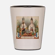 Coronation Nicholas II Shot Glass