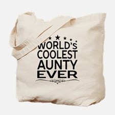 WORLD'S COOLEST AUNTY EVER Tote Bag