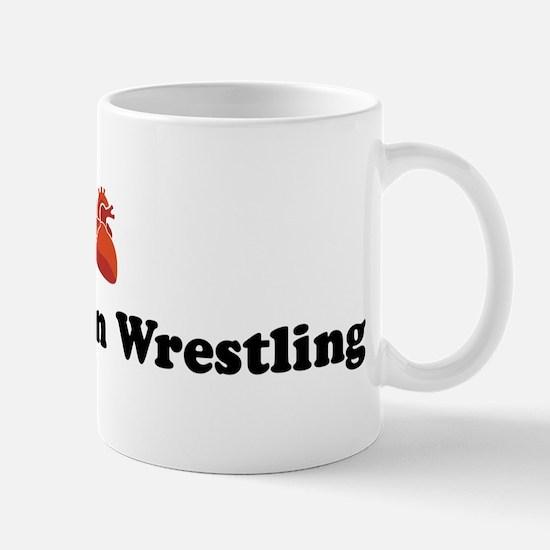 I (heart) Asian Indian Wrestl Mug