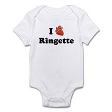 I (Heart) Ringette Infant Bodysuit