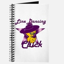 Line Dancing Chick #9 Journal