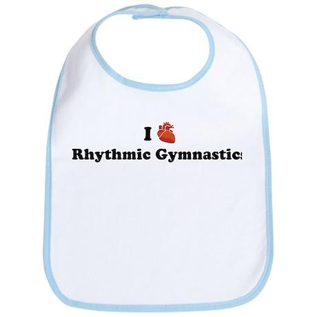 I (Heart) Rhythmic Gymnastics Bib